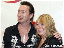 Julian and Cynthia Lennon