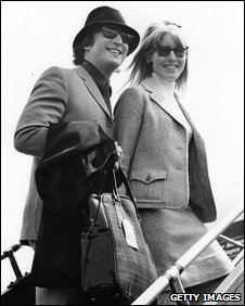 John and Cynthia Lennon in 1965