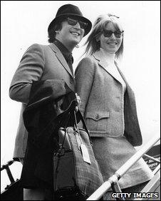John and Cynthia Lennon in 1965