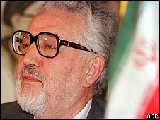 File photo of Ebrahim Yazdi