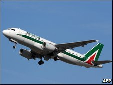 Alitalia Airbus 