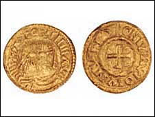 Anglo-Frisian Solidus coin