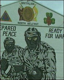 UVF mural in North Belfast