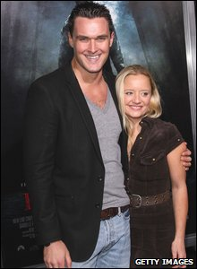 Owain Yeoman and Lucy Davies