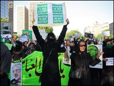 Protests in Iran, Getty