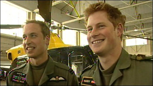 Prince William and Price Harry