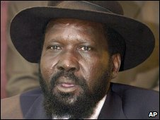 Sudanese Vice-President Salva Kiir (In Nairobi, 17 July 2006)