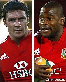 David Wallace and Ugo Monye