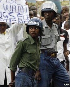 Police, Zimbabwe