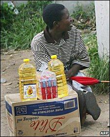 Informal trader, Zimbabwe