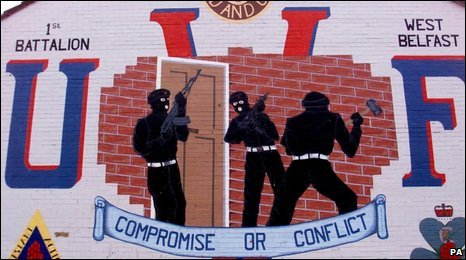 The UVF has started to decommission