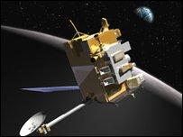 صورة خيالية للمستكشف القمري