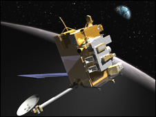 Artist's impression of LRO (Nasa)