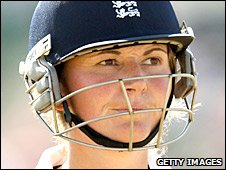 England women's captain Charlotte Edwards