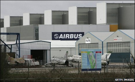 Airbus at Broughton