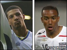 Jermaine Beckford and Fabian Delph