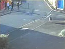 CCTV image after the incident