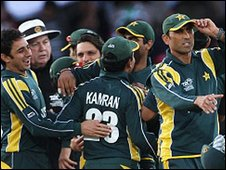Younus Khan (right)