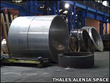 Cygnus cargo module (Thales Alenia Space)