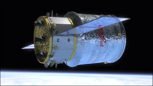 Cygnus supply ship