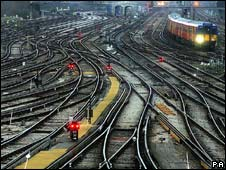 Clapham railway junction