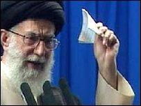 Ayatollah Ali Khamenei (19/06/09)