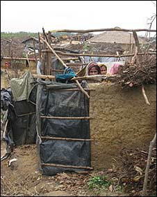 Unofficial refugee camp in south-east Bangladesh