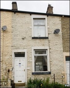 Kitty Ussher's Burnley home, now sold