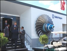 Rolls-Royce stand