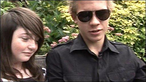 Sophie Frost and Mason Billington