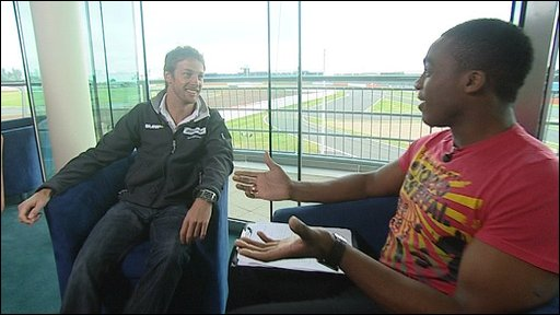 Ore interviews Jenson Button