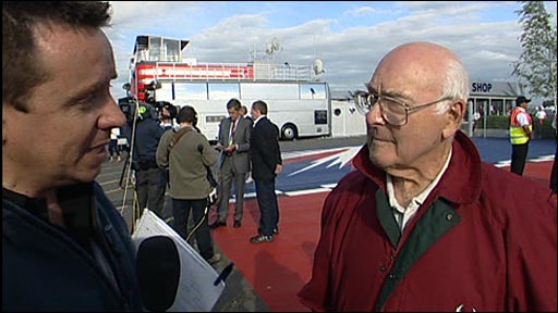 Francis Collings talks to Murray Walker