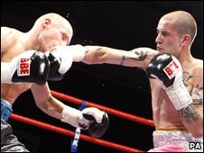 Kevin O'Hara (left) and Ricky Burns (right)