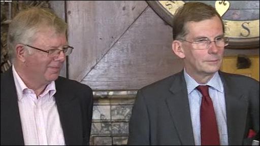 David Young and Sir David Omand