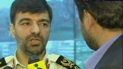 Tehran Province Police Chief Ahmad Reza Radan