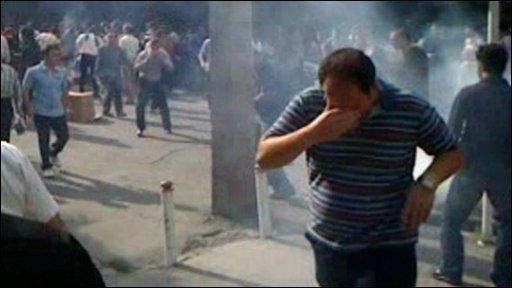 Iranian amateur footage