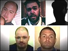 Four of the five hostages