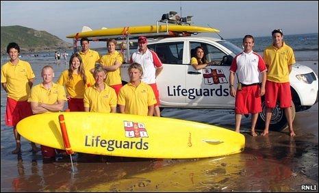 The RNLI's lifeguards