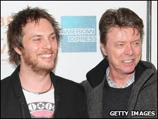 Duncan Jones and his father, David Bowie