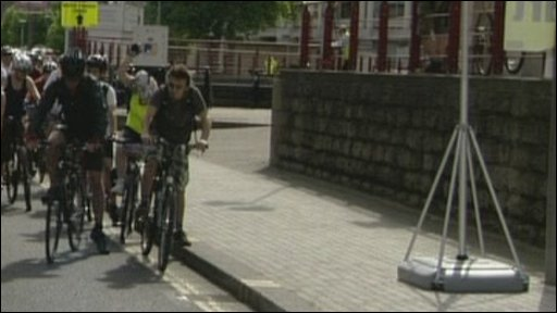 Bristol cyclists