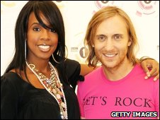 Kelly Rowland and David Guetta