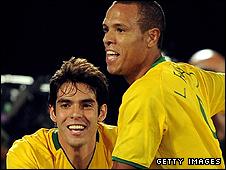 Kaka and Luis Fabiano