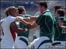 England and Ireland do battle in the Churchill Cup