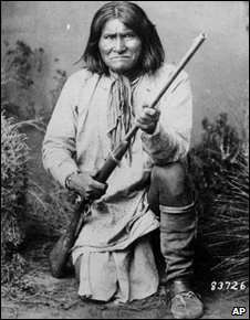 Geronimo, pictured in 1887