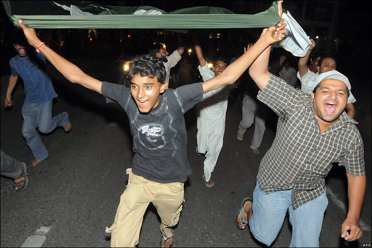 Lahore celebrates Pakistans T20 World Cup crown - Image Source: BBC News