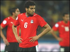 Egypt contemplate defeat