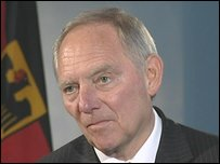 Wolfgang Schäuble, Germany's Interior Minister