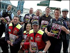 Big Issue sellers