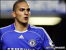 Ben Sahar making his Chelsea debut in 2007