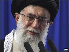 Ayatollah Ali Khamenei. File photo